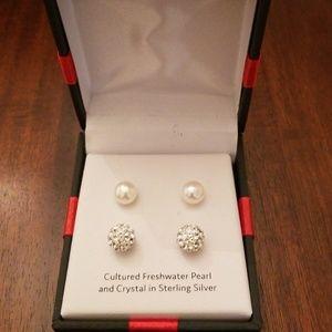 Two pair earrings